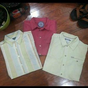 *3 FOR 1* Men's summer shirts, Medium
